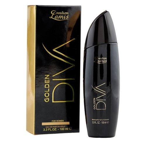 Creation Lamis Damen GOLDEN DIVA Eau de Parfum Spray 100ml SR-19260