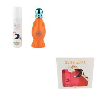 EVAFLOR Paris Damen Parfum Set (Eau de Parfum Spray 100ml + Deodorant Body Spray 100ml) Sexy Look 20