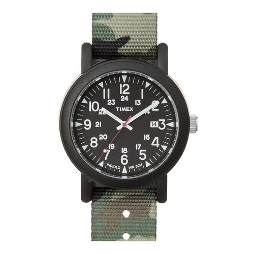 Timex Camper Green Black ABT502 Herrenuhr